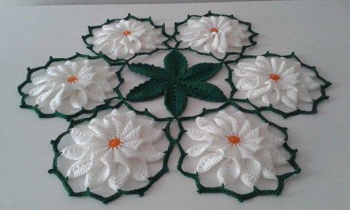Serwetka Szydelkowa Serweta Z Kwiatami Nr 59 7062246278 Oficjalne Archiwum Allegro Crochet Crafts Crochet Doilies Crafts