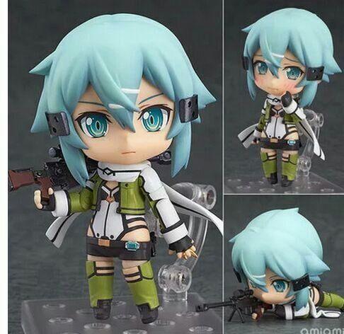 Anime Sword Art Online 2 Figma241 Sinon Asada Sao 2 PVC New Figure Collection