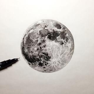 full moon tattoo - Google Search Pinterest: @BrittanyNiemer☼