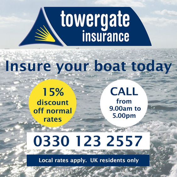 Boat insurance offer from Towergate InsuranceSafe Skipper Apps and Towergate Insurance are working together to provide boat insurance at a discount of 15% off Towergate's normal rates, plus a free appYour boat is important to you, but so is the personal safety of you and your crew. That is why Towergate and Safe Skipper have …
