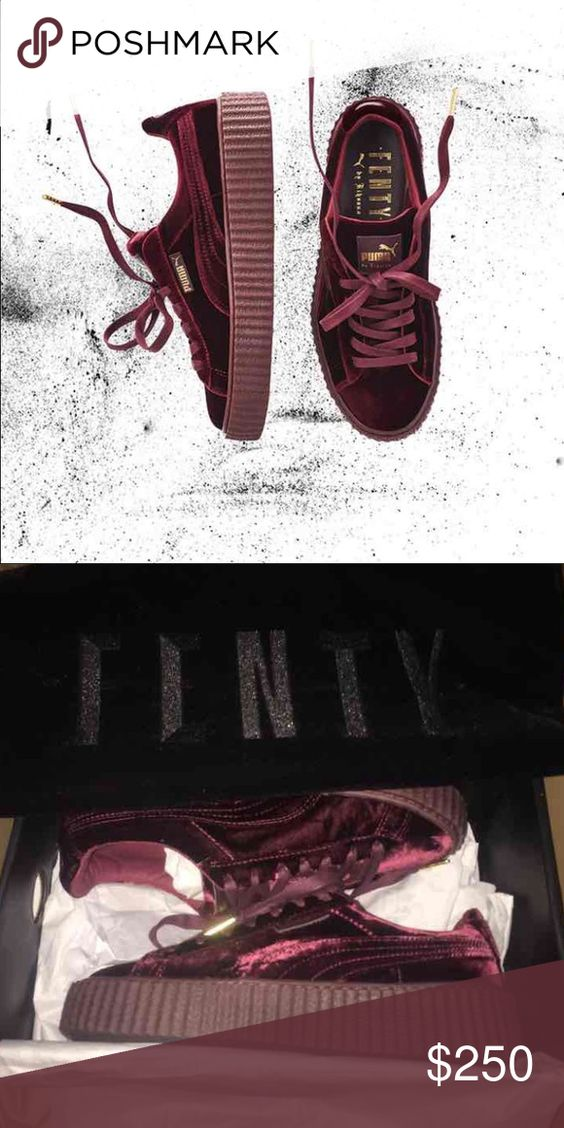 Red Velvet Creepers Size 6.5 & 7.5 (180 on website Only 200 on my website I decided to only get two pairs to see how they would sell. NO TRADES Puma Shoes Platforms