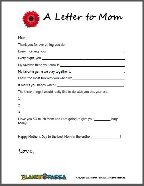 Cute letters to write