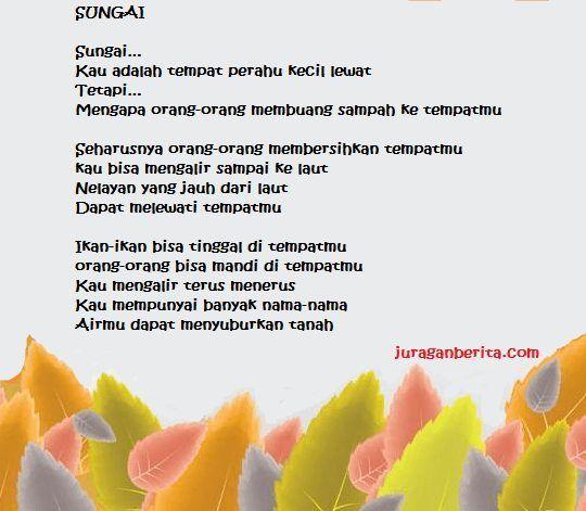 37 Contoh Puisi Pendek Lama Baru Ibu Guru Persahabatan