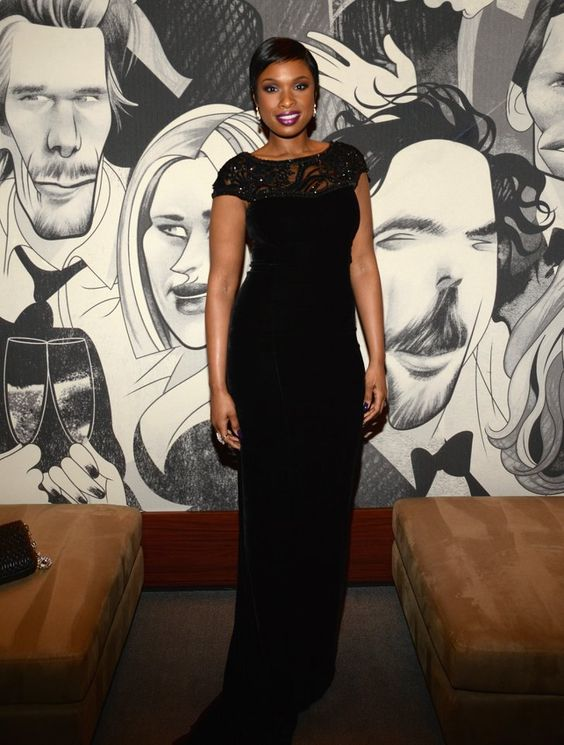 Pin for Later: See Which Stars Let Their Hair Down at Vanity Fair's Oscars Afterparty! Jennifer Hudson