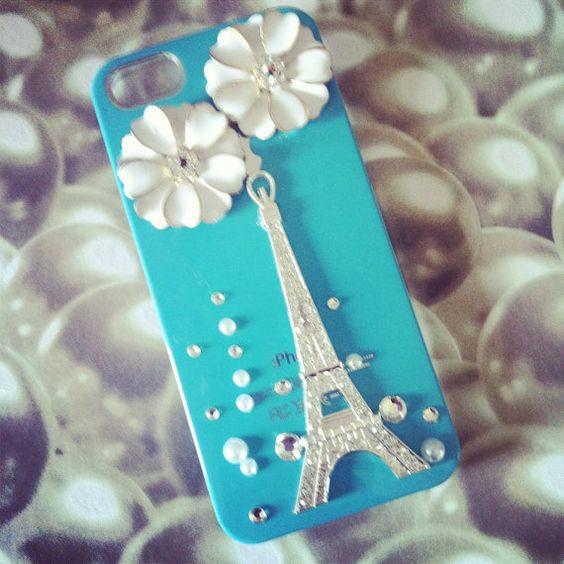 Pretty Paris in Tiffany blue