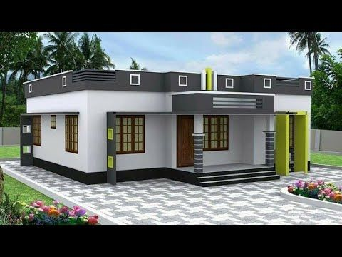 Exterior House View Youtube In 2020 Kerala House Design Small House Design Plans Small Modern House Plans