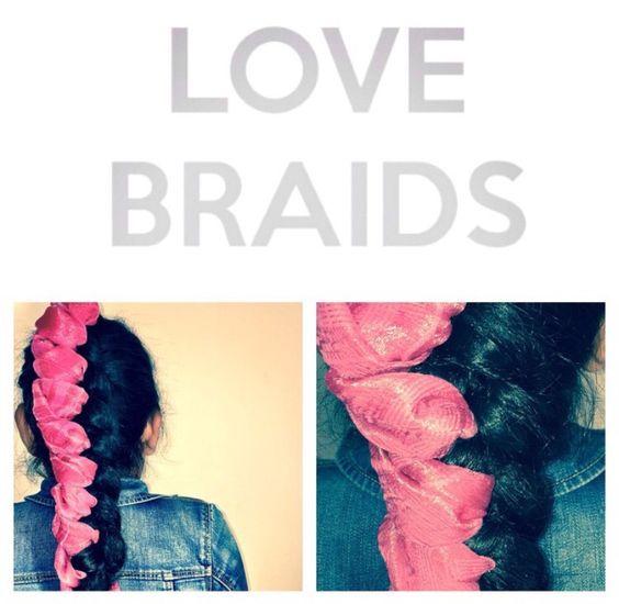 PinkWaterfallCool braids    Fashion braids by Love2Braid #braids #braidstyles #braidstylist #hair #hairstyles #hairstylist #hairdresser #fashionbraids #coolbraids #fashion #inspiration #catwalk #runway #fashionshow