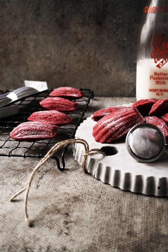 magdalenas rojas!