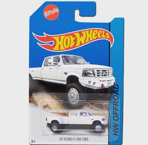 97 Ford F 350 Hot Wheels Toys Car Wheels Diy Custom Hot Wheels