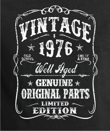 40th Birthday Gift - Shirt Turning 40 - 40 Years Old - VINTAGE 1976 Shirt - Tee…
