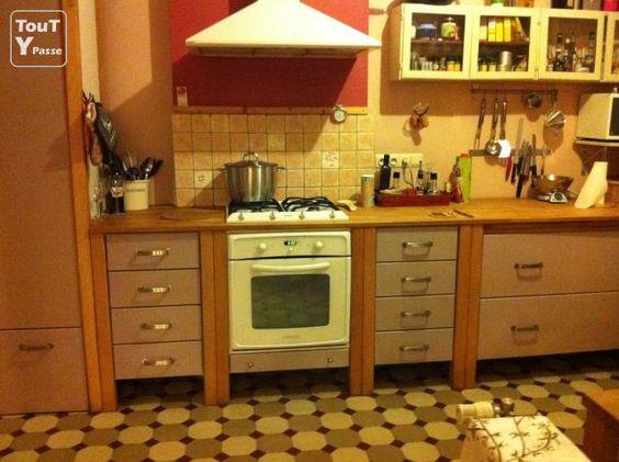 Photo a vendre cuisine quip e compl te l cto inclus for Petite cuisine equipee ikea