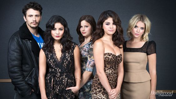 'Spring Breakers' cast photo for THR at the Toronto Film Festival