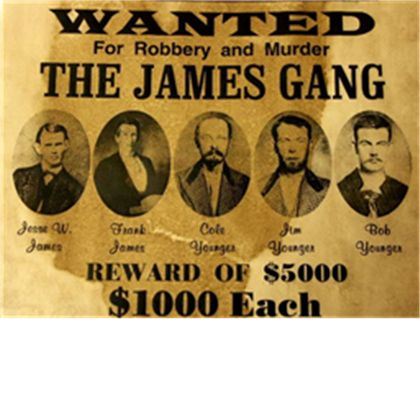 Wanted Poster Outlaws and Other Old West Characters – Wanted Sign Font