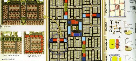 أصدرت وزارة الشؤون البلدية والقروية الدليل الإرشادي لتطوير تصميم تقسيمات الأراضي والمخططات السكنية في المدن والقرى السعودية Tetris