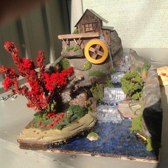 The diorama