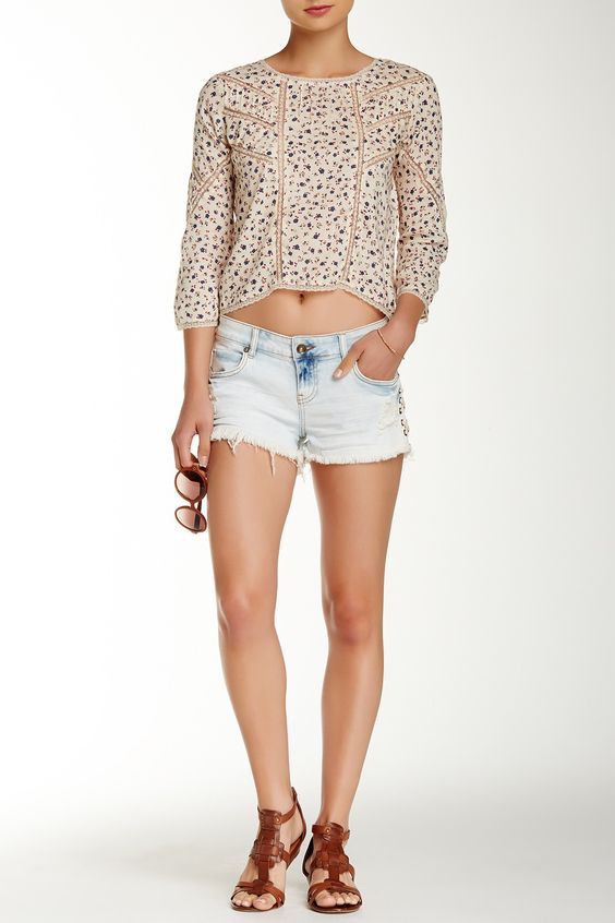 Lite Hearted Side-Tie Short