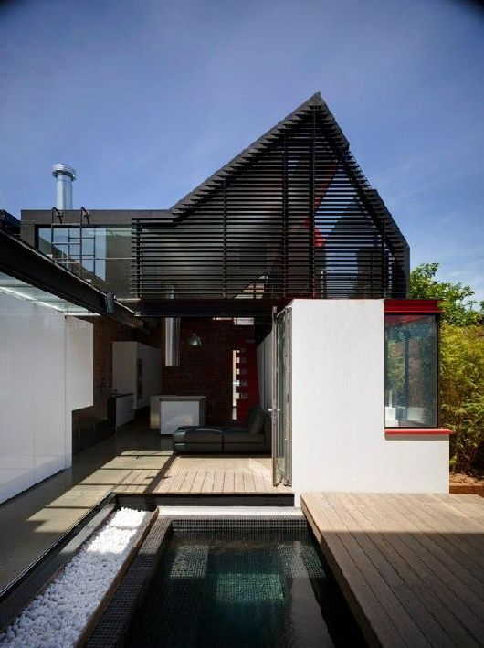 Historic Victorian Vader House: Contemporary Residence by Andrew Maynard Architects