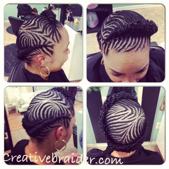 Fine Protective Hairstyles Braid Designs And Cornrows On Pinterest Short Hairstyles For Black Women Fulllsitofus
