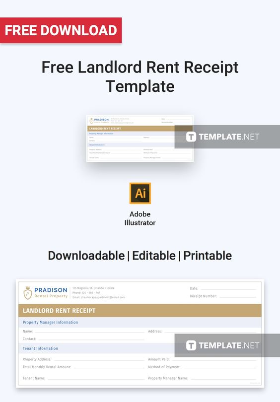 Free Template For Receipt Of Payment Free Annual Rent Receipt  Receipt Template And Template