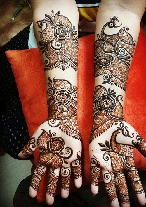 latest stylish mehndi design