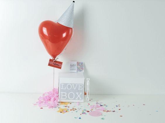 LOVEBOX*Gastgeschenk*HOCHZEIT von glücksschauer auf DaWanda.com