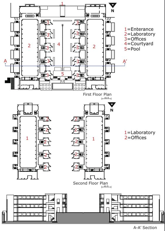 louis kahn floor plans modern home design and decorating the salk trxl