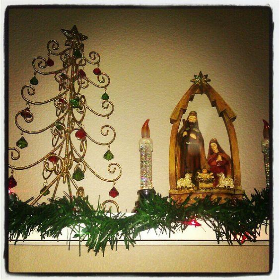 Nativity station