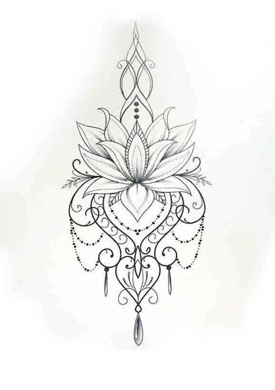 Foto Foto Tattoos Flower Tattoo Designs Mandala