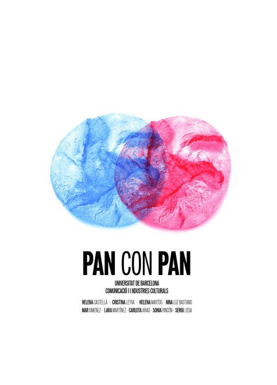 Cartelería del cortometraje Pan con pan II  Lara&Marta