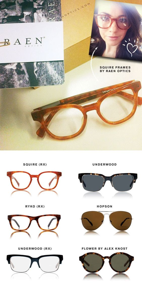 Raen Optics glasses - via Wit & Delight