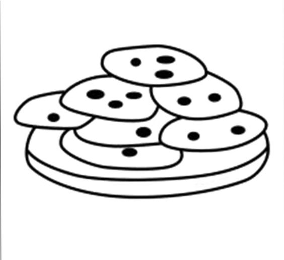Cookies Coloring Pages Cookies Coloring Pages