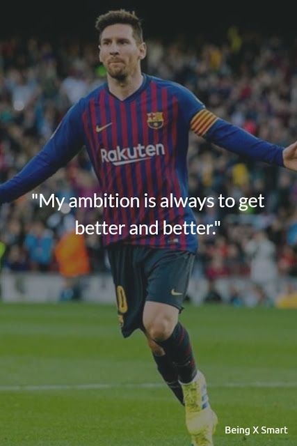 Best 40 Lionel Messi Quotes On Life Overnight Success Football Sports And Dreams In 2020 Inspirational Soccer Quotes Lionel Messi Quotes Lionel Messi