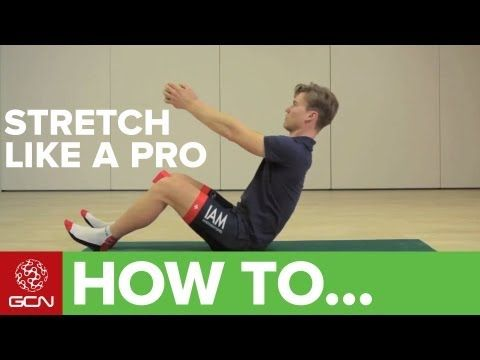 How To Stretch For Cycling - With IAM Pro Cycling - YouTube