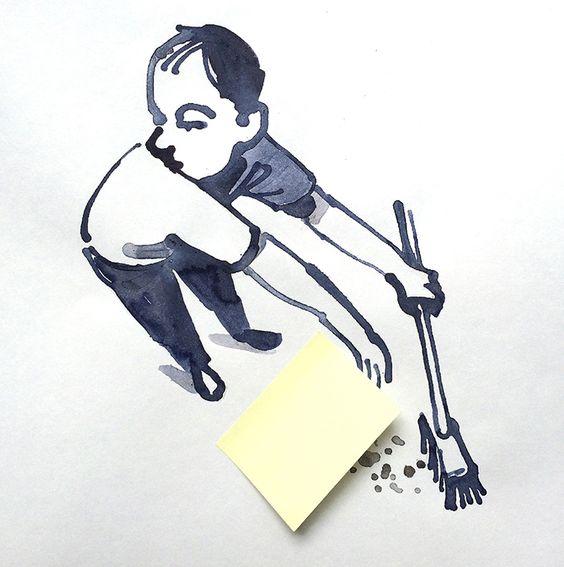 Surrealismo, humor e inteligencia en la obra de Christoph Niemann - Cultura Inquieta