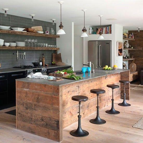 16++ Modele cuisine ilot central inspirations