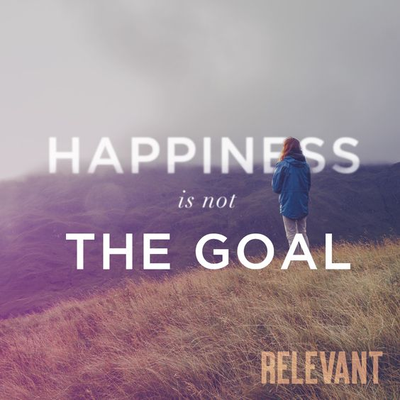 Happiness is not the Goal - Why the first step towards true happiness might just be to stop prioritizing it. | RELEVANT Magazine