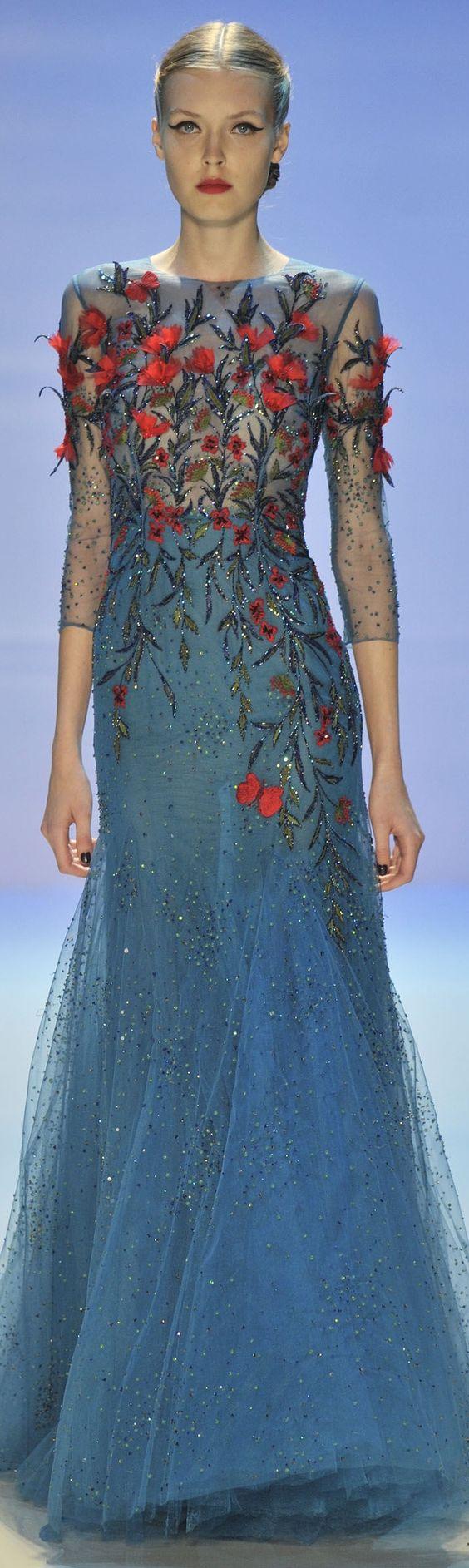 ** Inspiration de motifs ** Georges Hobeika Couture F/W 2014-2015