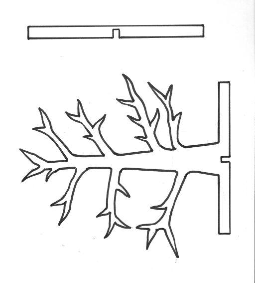Moldes de arboles para armar buscar con google moldes for Sillas para armar y recortar