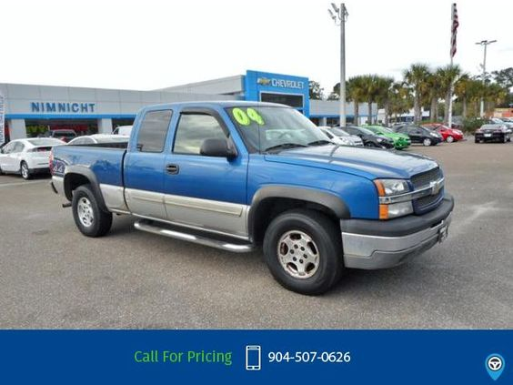 2004 Chevrolet Chevy Silverado 1500 Call for Price  miles 904-507-0626 Transmission: Automatic  #Chevrolet #Silverado 1500 #used #cars #NimnichtChevrolet #Jacksonville #FL #tapcars