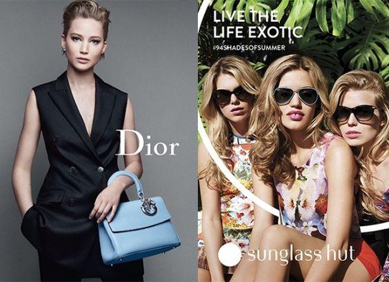 Ninguém melhor para representar as marcas luxuosas do que elas, as celebridades de Hollywood. Veja quais foram as famosas que estrelaram nas últimas campanhas de moda.