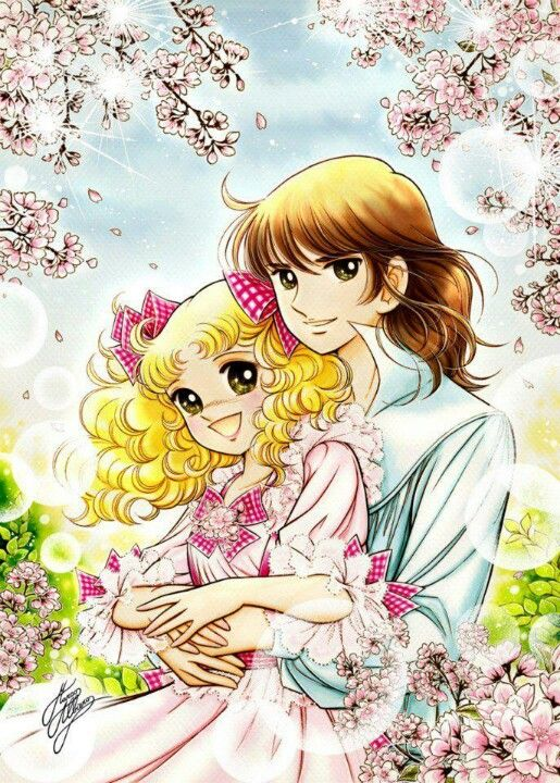 Candy Candy. My favorite anime!!! ❤ Me: oh no, one of my first otps. It's a nice series, sad, but what do you expect from '70's anime/manga.