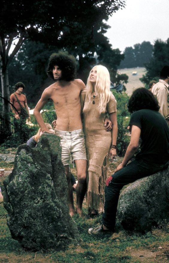 Cutoffs for Men | 25 Groovy Trends Spotted From Woodstock Festival Street Style: