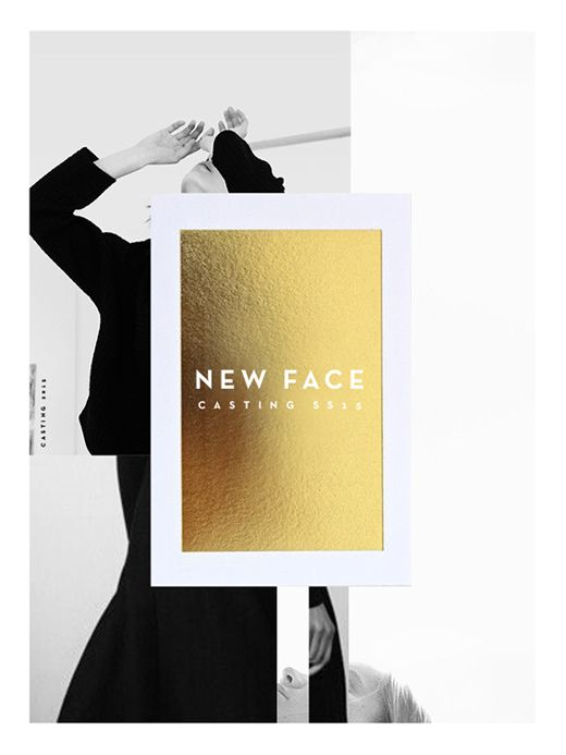 NEW FACE SS 15 on Behance