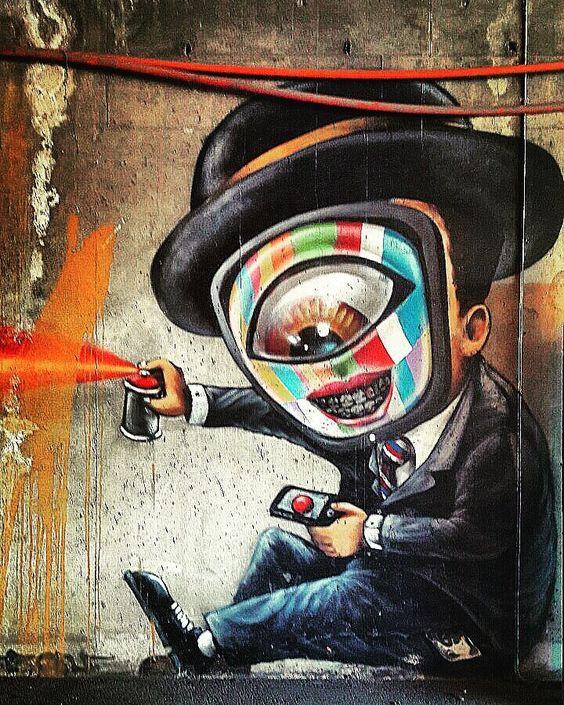 #sandvika #streetart #colorful #wallpainting #graffiti by charlottebech74