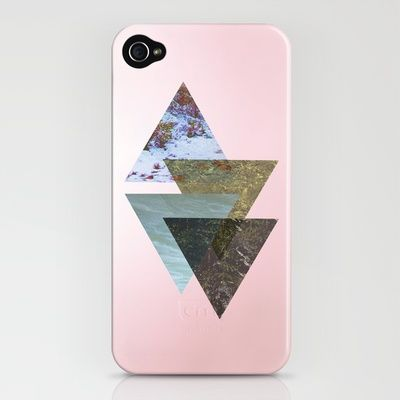 photographic triangles iphone case