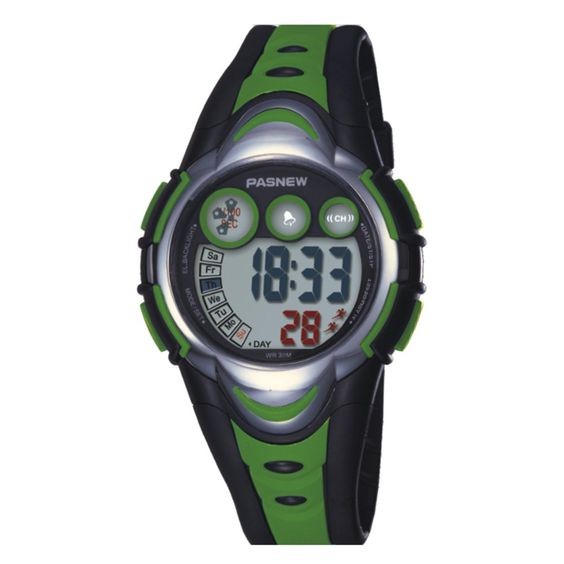 Electronic watch children watch / Girls Boys Watches / waterproof sports watch / running high school students watch-green. Soft PU strap, plexiglass mirror. Suitable wrist circumference 15-20.5cm. 12/24 hour clock, stopwatch. shipping time: 8-12working days. Please contact us if there is any question.