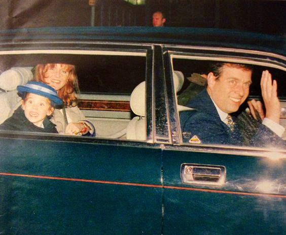 Duchess of York, Princess Beatrice and Andrew 1994