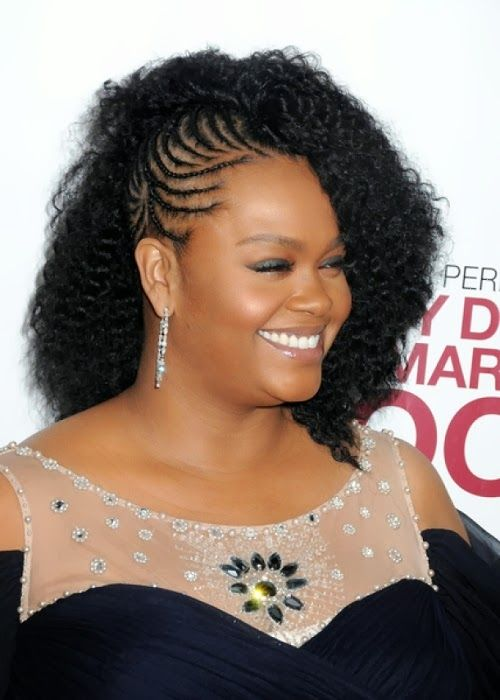 Fine African Fashion Woman Hairstyles And Black Braided Hairstyles On Short Hairstyles Gunalazisus
