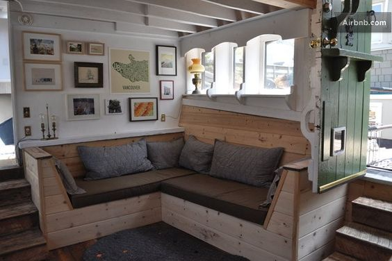 Houseboat Interiors vintage houseboat interiors | vintage sausalito houseboat cottage