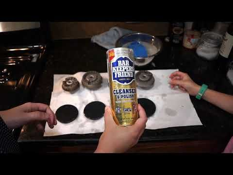 How to Efficiently Clean Gas Stove Tops, Burners, and Grates